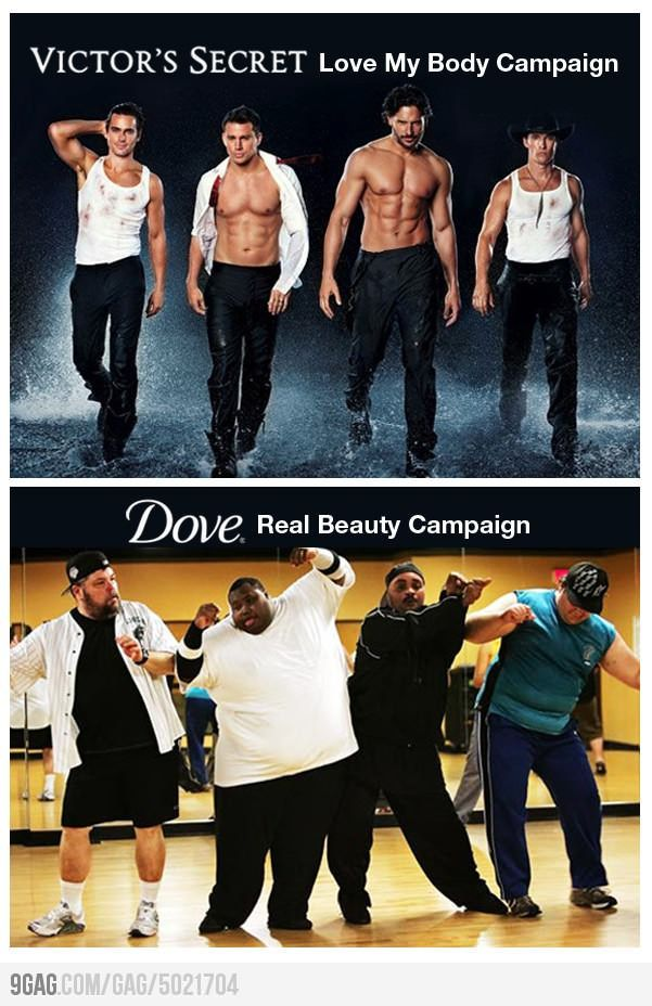 Male beauty campaigns