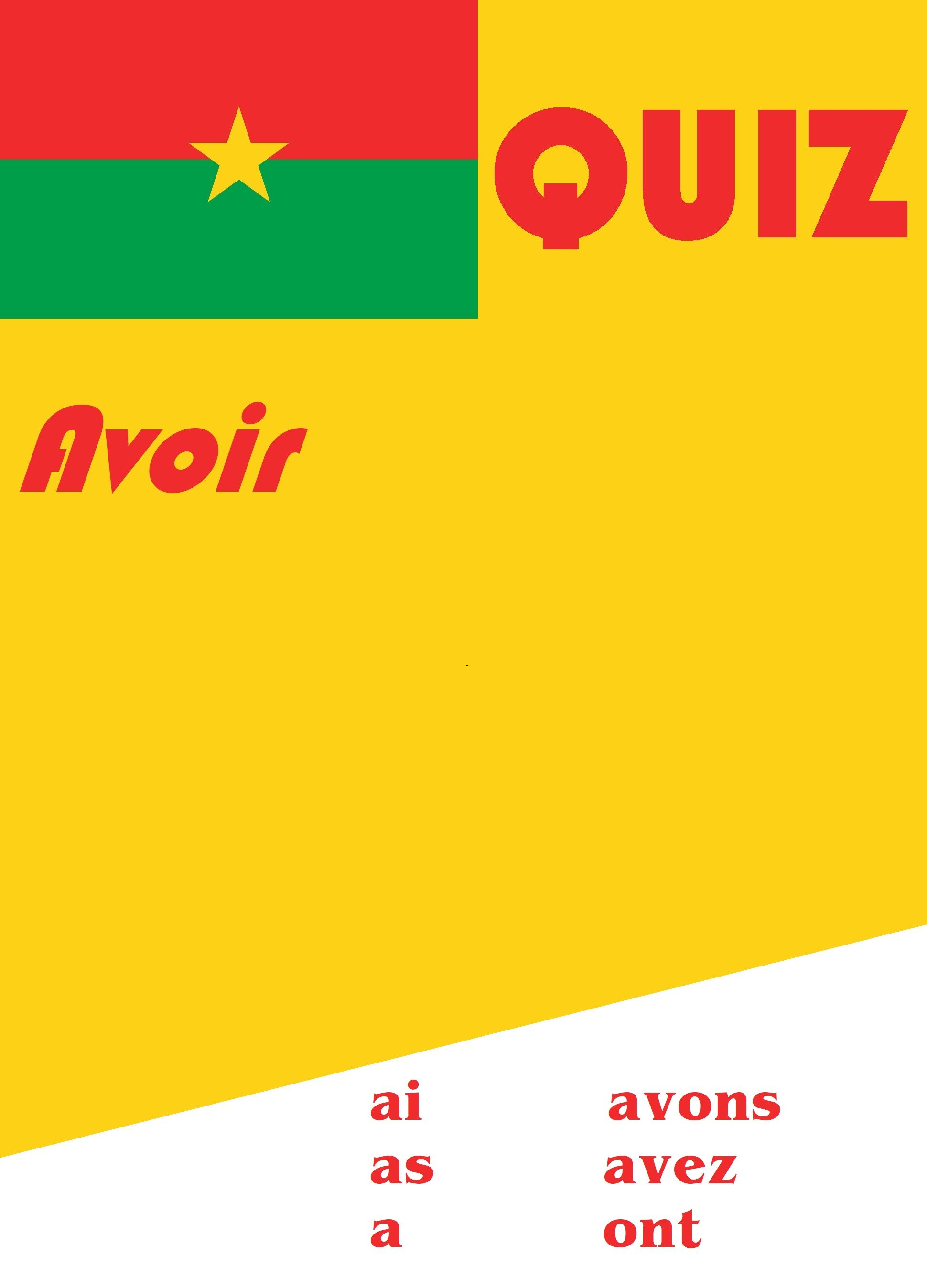 French Avoir Quiz Or Worksheet Distance Learning