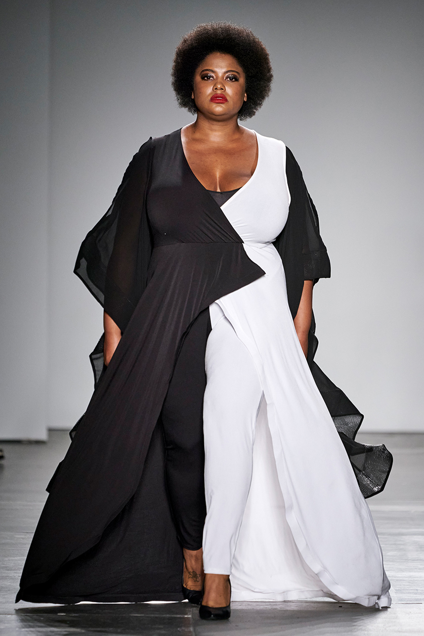 Plus Size Designer Rene Tyler Stole The Show At New York Fashion Week In 2020 With Images Fashion Plus Size Designers Fashion Week