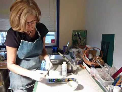 (I) Stained glass How to make a frame.wmv