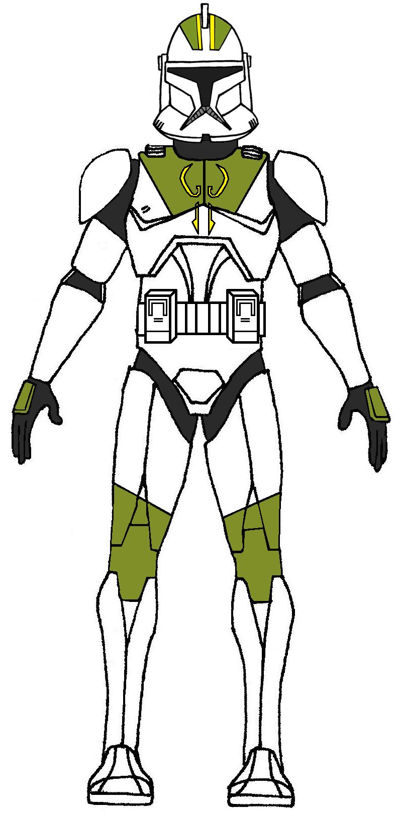 Increíble Guerras Clónicas Para Colorear Páginas Capitán Rex ...