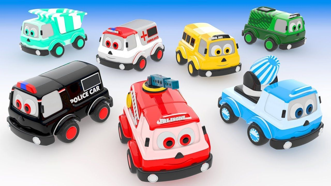 Car toys for toddlers  Learn Emergency Vehicles Names  Learn Colors with Street Vehicles