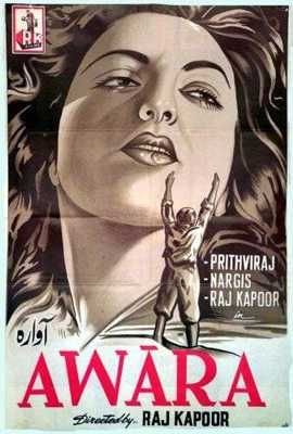 Awara 1951 Bollywood Posters From 1950 S Old