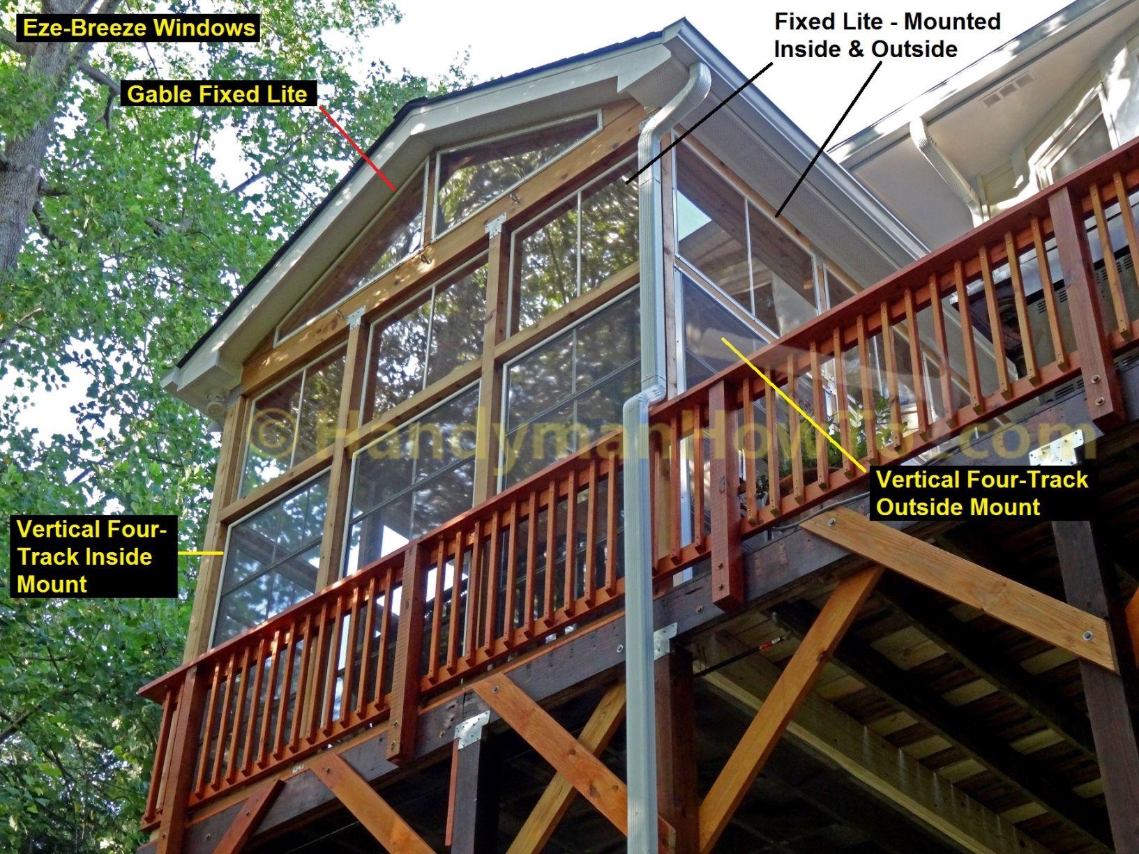 eze breeze windows reviews cleaning eze breeze windows reviews for impressive home design porch with wooden railing