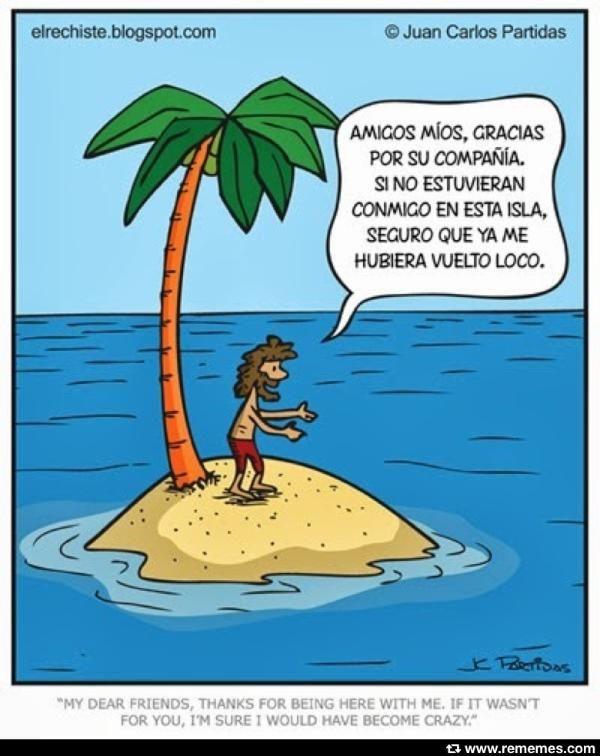 Como Sobrevivir En Una Isla Desierta Classroom Humor Spanish Jokes Humor