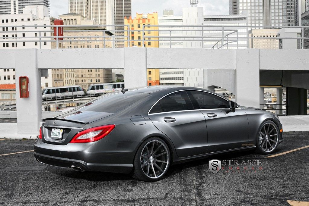 strasse forged wheels 2013 mercedes benz cls forged wheels and mercedes benz. Black Bedroom Furniture Sets. Home Design Ideas