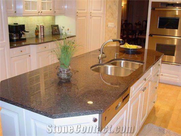 Superb Coffee Brown Granite Countertop