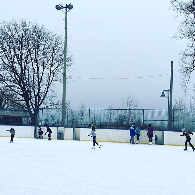 Kew gardens ice skating