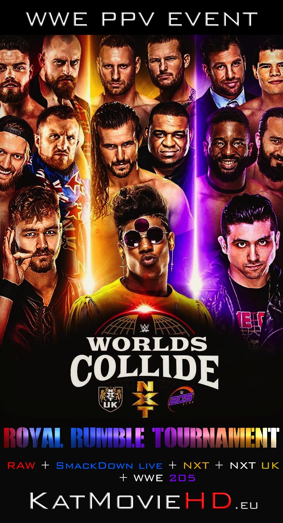 WWE Worlds Collide Tournament 2019 Full Show Online | 480p