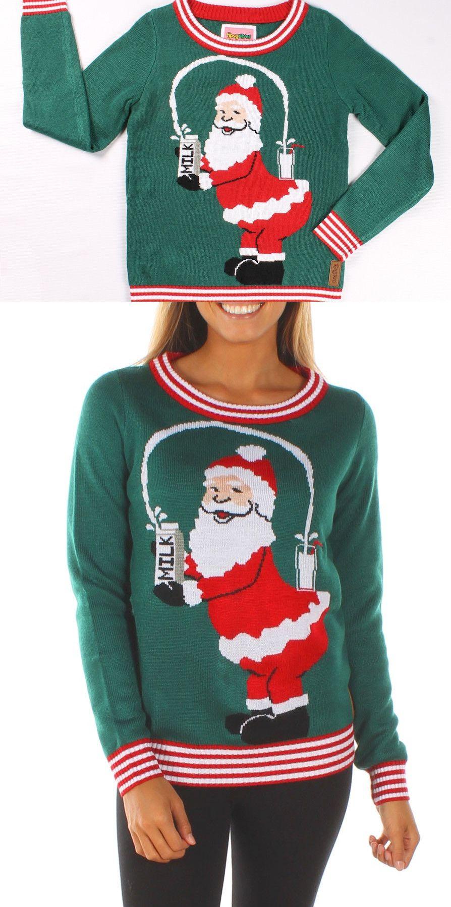 Kim Kardashian\'s Same Style Santa Christmas Sweater | Santa ...