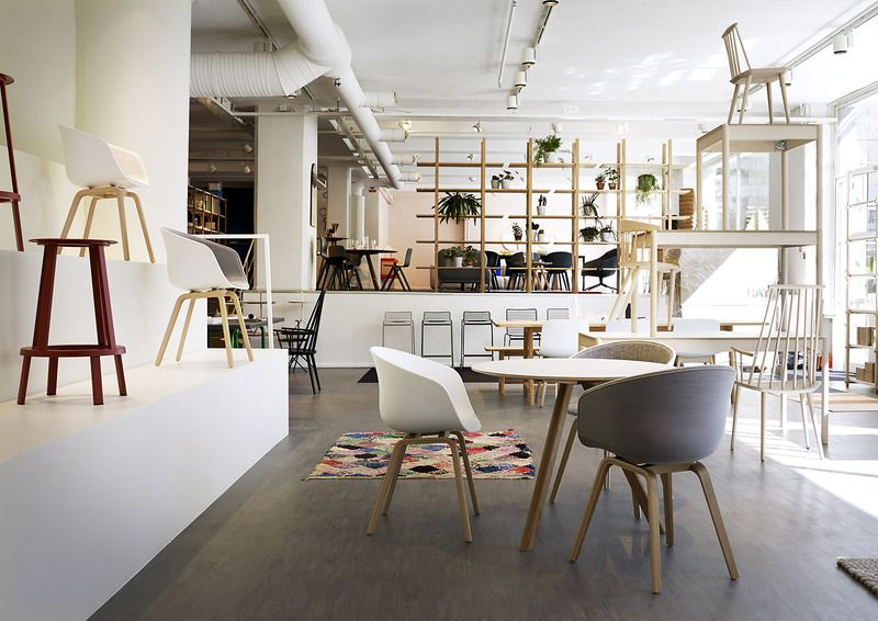 Gulled showroom in Stockholm - HAY - Tom Dixon - MAGIS | Ideas ...