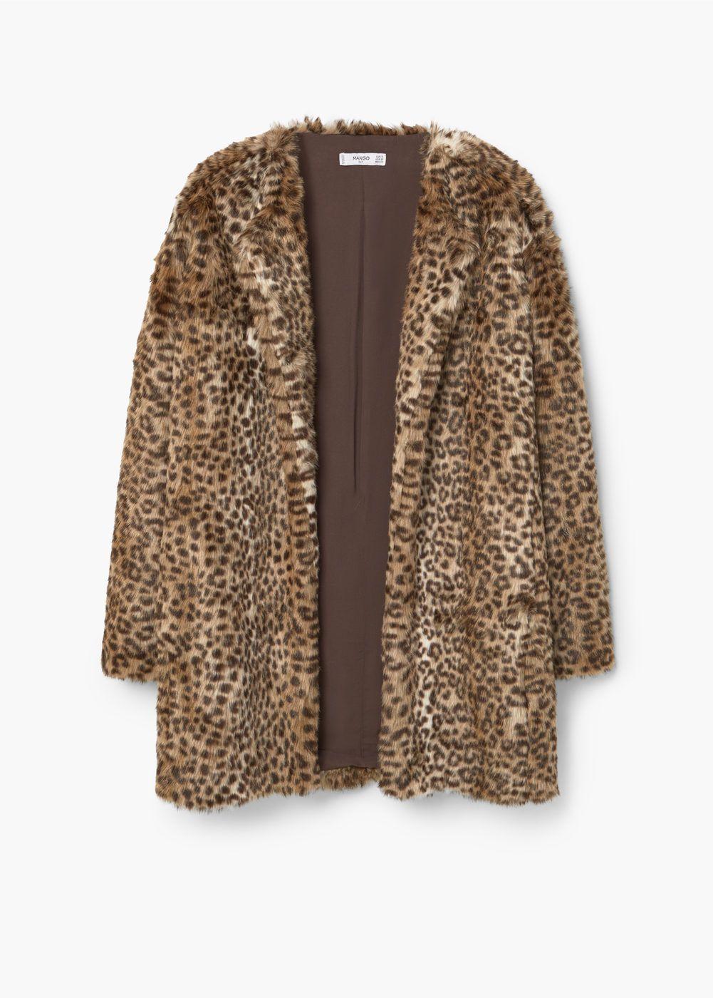En leopard print