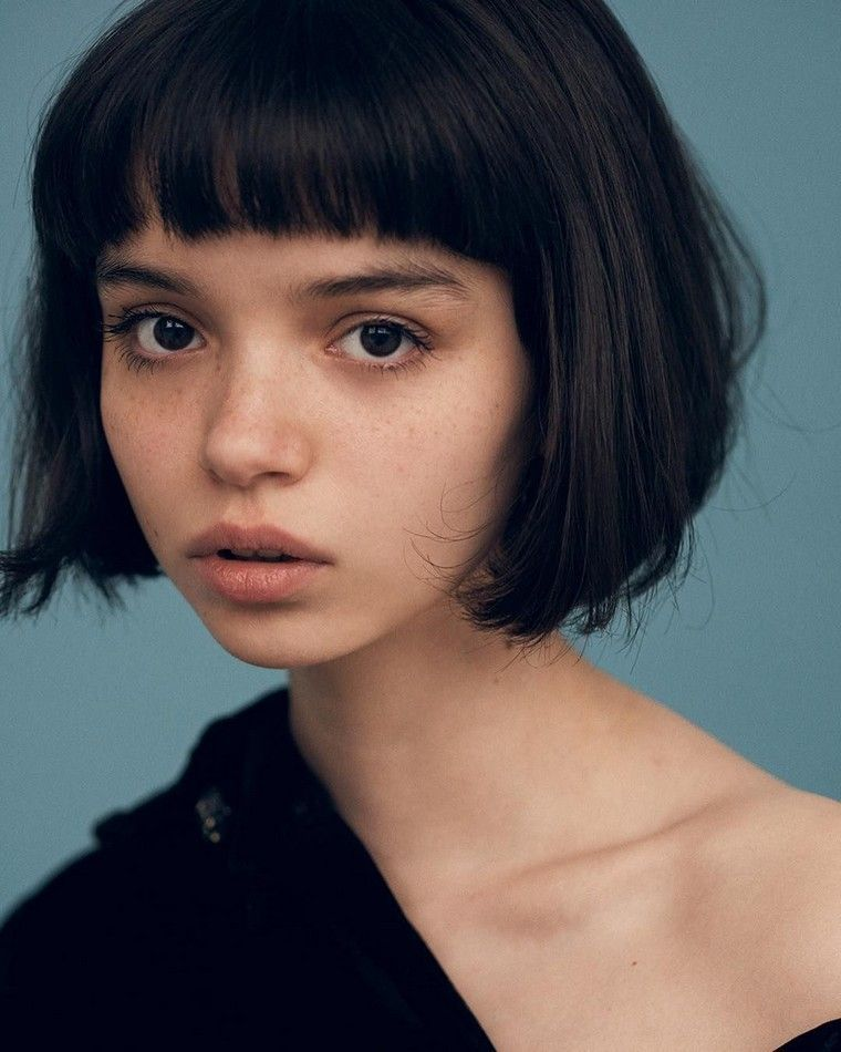 Bob with bangs selection of some super stylish 30 models #face