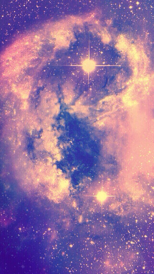 Purple Galaxy Idea For Your Wallpaper Lock Screen Galaxy