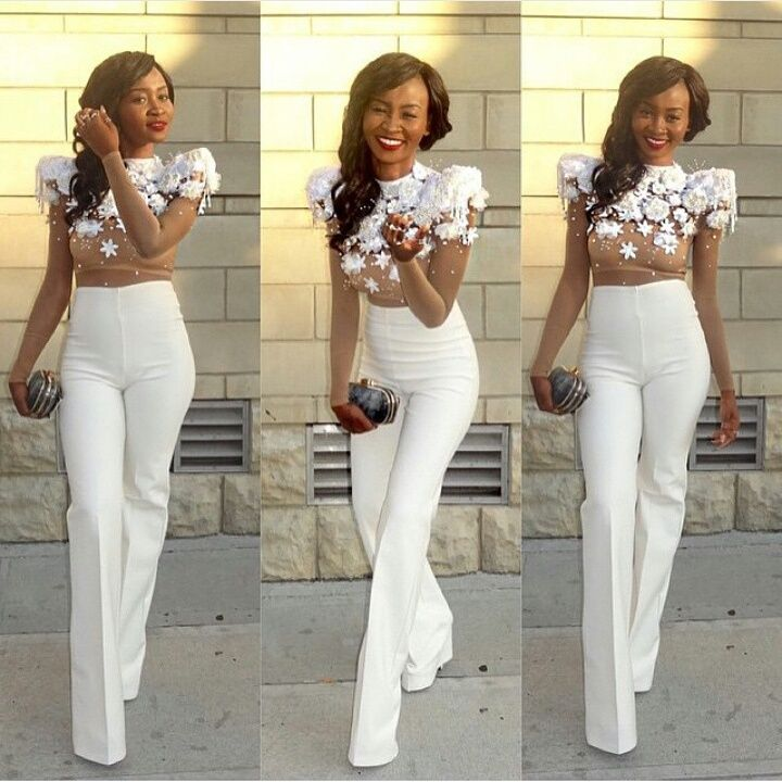 Kylie jenner high waist white pants google search fashion and i have a wedding to attend so ama wedding guest and this prompted this article because i realized i didnt get the aso ebi and so i dont have anything to junglespirit Images