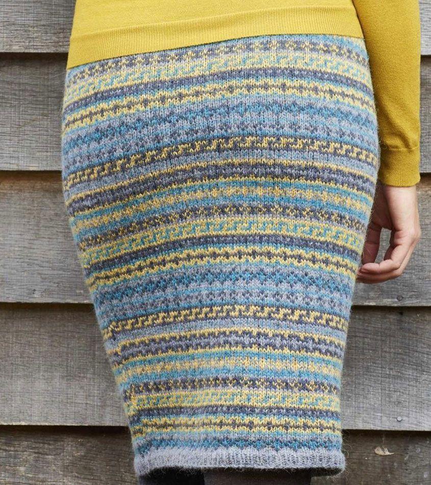 Fair Isle skirt knitting pattern | Sock | Pinterest | Skirt knitting ...