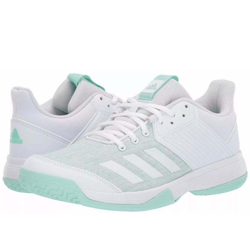 Adidas Shoes | Adidas Ligra 6 Netball Sneakers | Color: Green ...