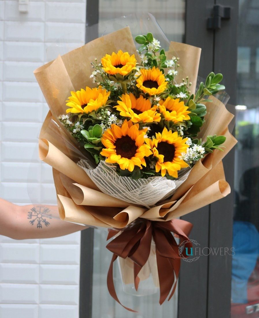 Pin By Tiffany Toh On Sunflower Bouquets