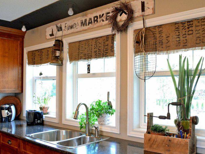 Wohnzimmerfenster dekorieren ~ Küchenfenster dekorieren dekotipps fensterbank deko windowbench