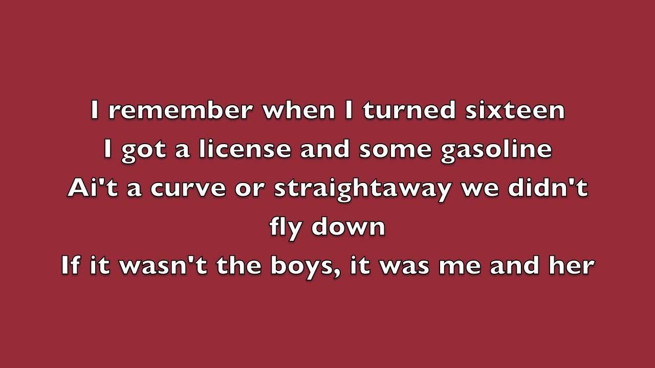 Luke Bryan Dirt Road Diary Lyrics Dirt Road Anthem Luke Bryan Lyrics