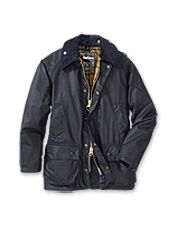 This equestrian style Barbour Bedale jacket looks great in the country or in town.