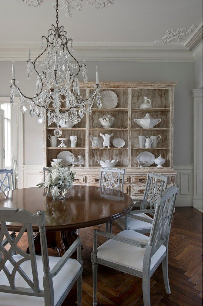 living room hutch Dining Room Traditional with