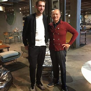 Robert Pattinson Paid a Visit to JF Chen's in LA - December 13th 2014