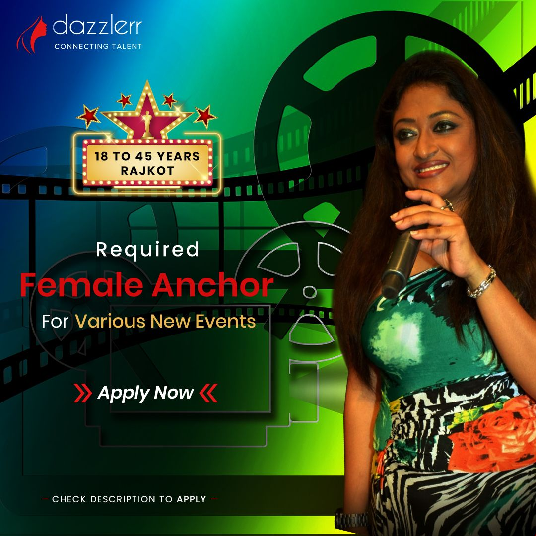 Female Anchor Required For Various New Events In Rajkot We Are Looking For Good And Smart Anchors Ba Good Communication Skills Communication Skills Event