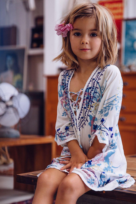 Arnhem Child – Meika #bohemian #kids #style #bohemian #voiles #bordados #algodões #FocusTêxtil