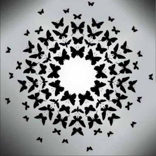Radial Symmetrical Balance Created By The Butterfly Shapes Around A Center Principles Of Design Principles Of Art Balance Balance Art