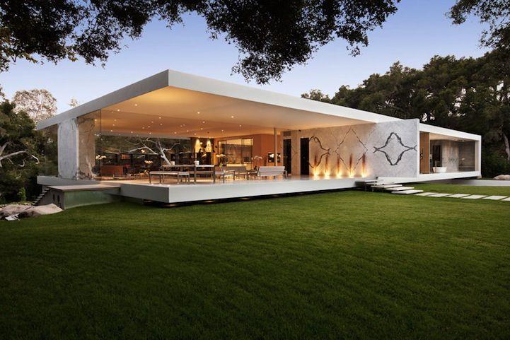 Santa Barbara S Glass Pavilion Glass Pavilion Architecture