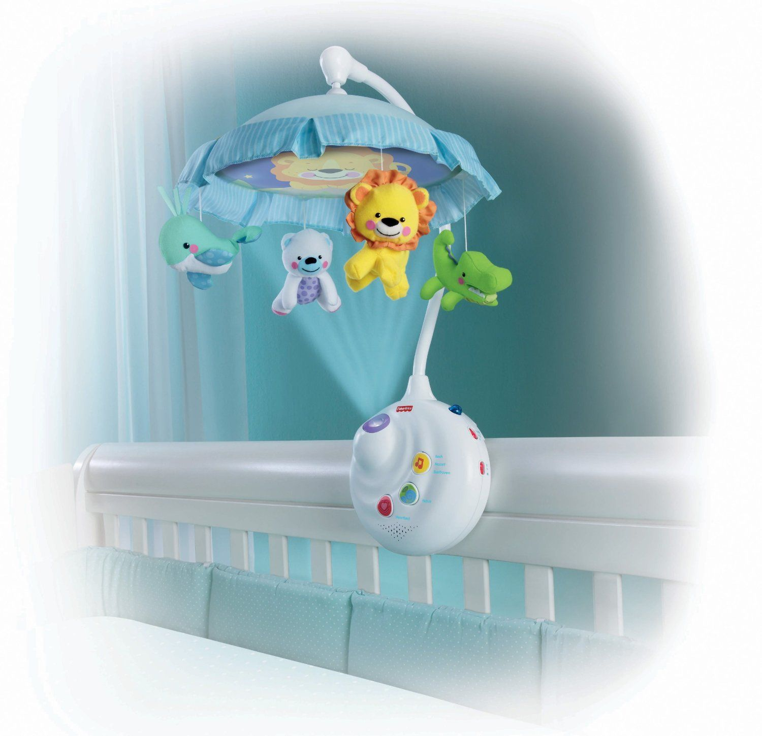 Fisher Price Precious Planet 2 in 1 Projection Mobile See more at
