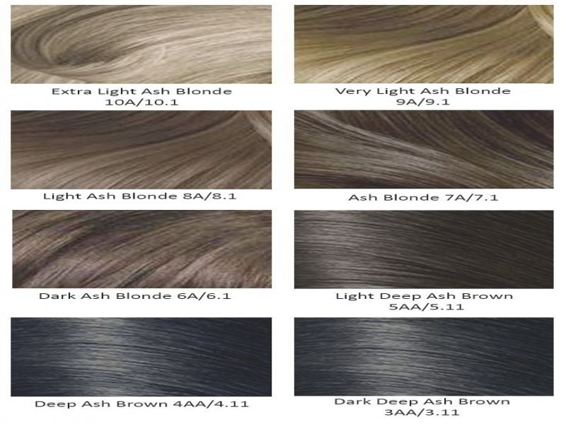 Keptalalat A Kovetkezore Light Ash Brown Hair Color Chart Ash