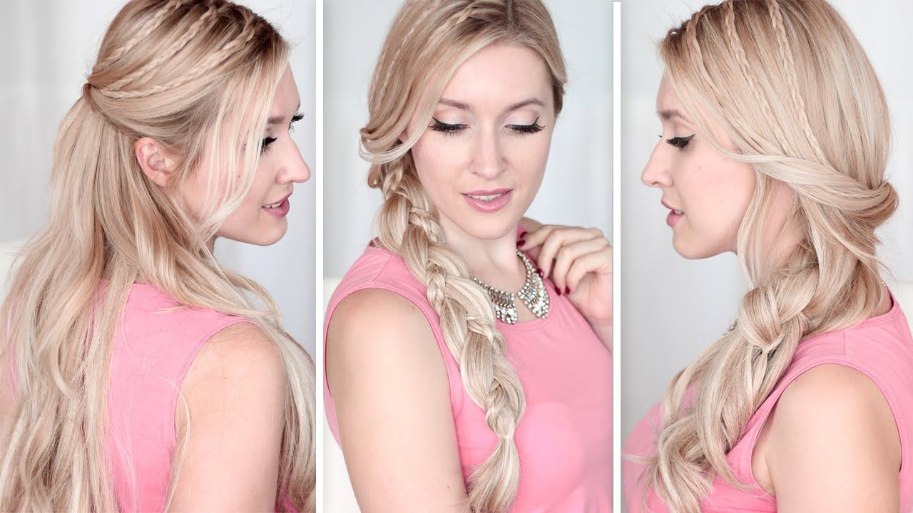 Here come another quick cute and easy running late hairstyles for