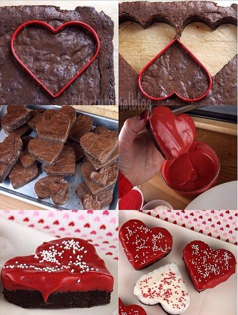 Valentine's Day brownies ❤️