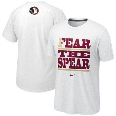 new style 8e216 19d75 Nike Florida State Seminoles (FSU) Fear The Spear My School ...