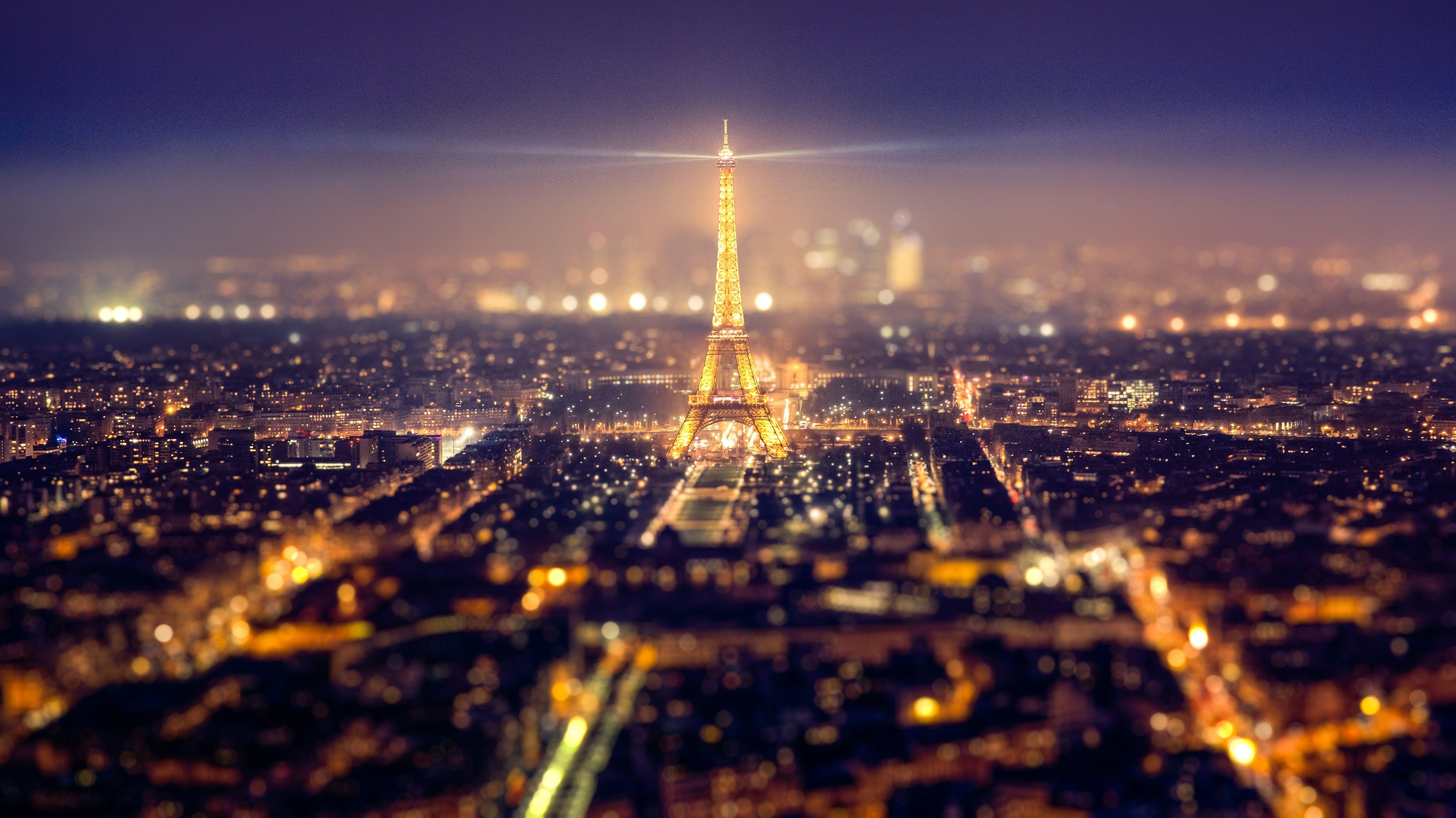 Eiffel Tower Paris Cityscape 4k Hd Pictures Paris At Night