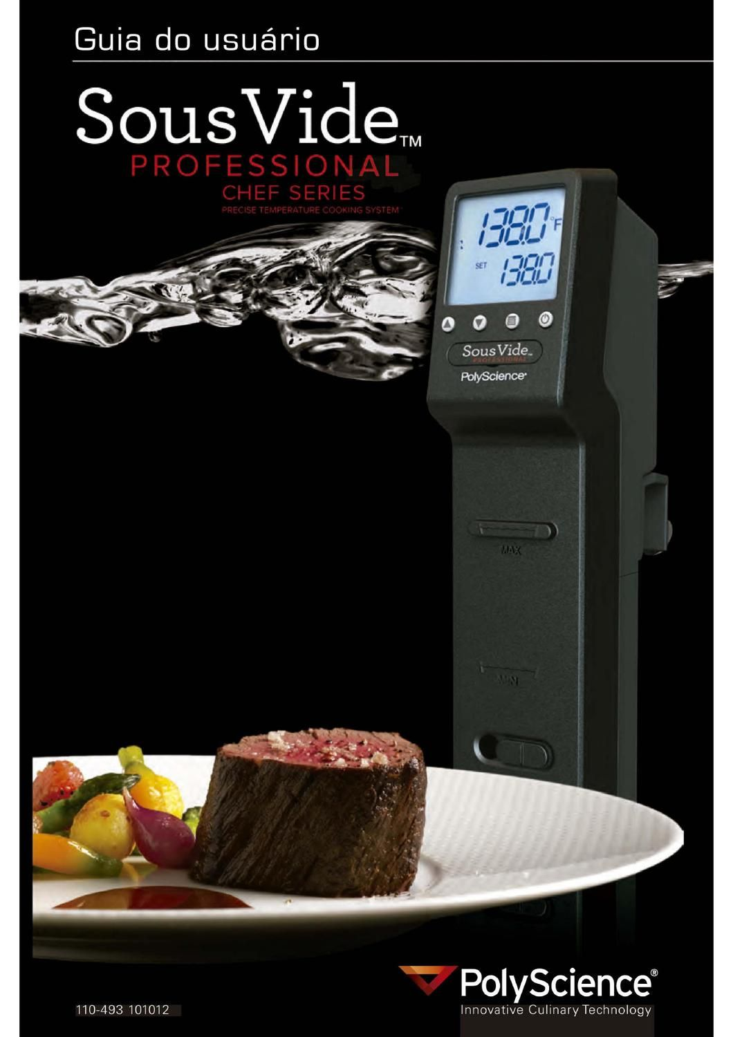 manual sous vide professional chef series sous vide and rh pinterest com Dedos Em Portugues Dedos Em Portugues