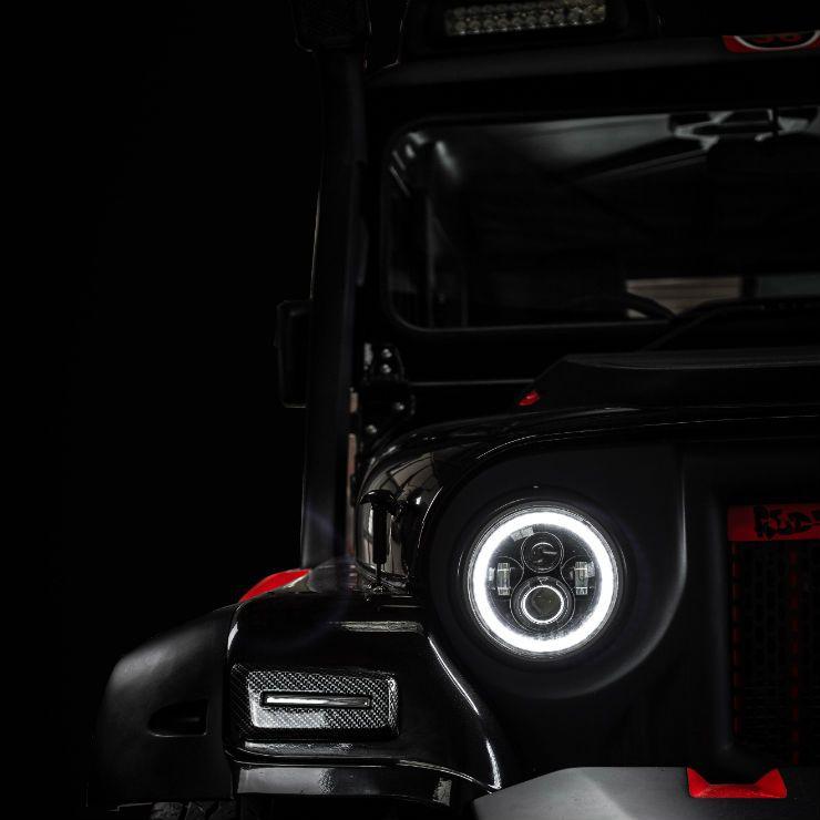 Modified Mahindra Thar Black Hawk Edition Is Opulent Yet Brutish Mahindra Thar Mahindra Thar Jeep Thar Jeep