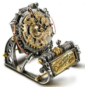 Time Machine Chronambulator Dial - Alchemy Steampunk