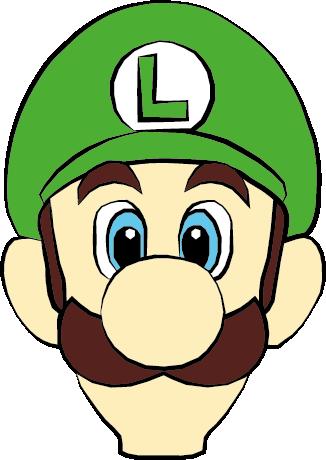Luigi Face Super Mario Bros By Azenmog Super Mario Bros Party Mario Bros Party Super Mario And Luigi