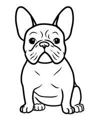 French Bulldog Coloring Sheets Google Search In 2020 Puppy Coloring Pages French Bulldog Drawing Dog Coloring Page