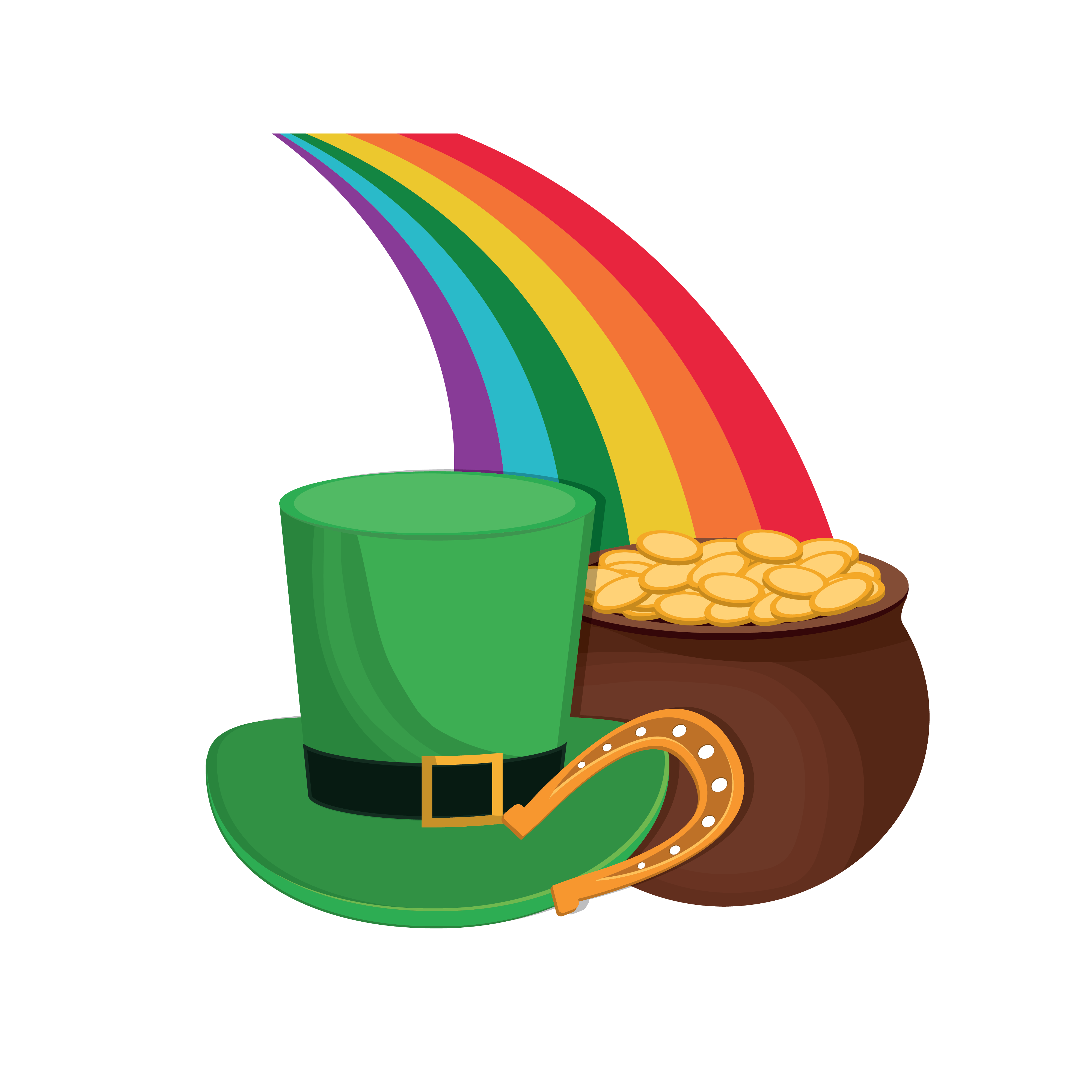 Leprechaun Hat And Pot Of Gold Saint Patrick S Day Shirt Essential T Shirt By Wysteriafox Saint Patricks Day Art St Patricks Day St Patrick Day Shirts