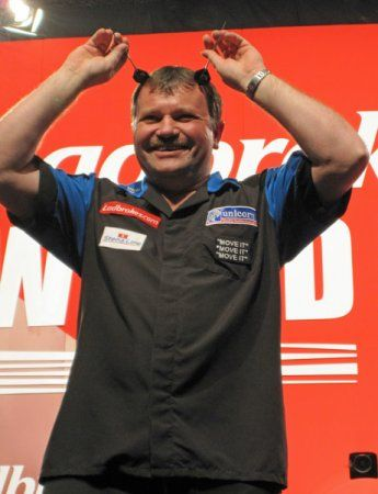 """Let loose """"The Raging Bull"""" Terry Jenkins."""
