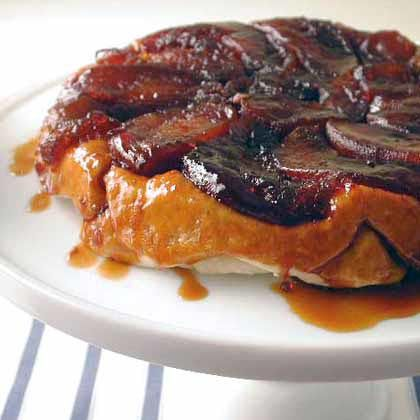 Tarte Tatin In this classic French apple tart, the delicious syrup becomes the topping when the tarte tatin is inverted.