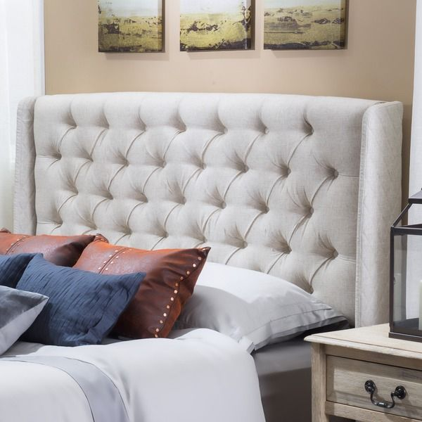 Christopher Knight Home Perryman Tufted Fabric Headboard Ping S On
