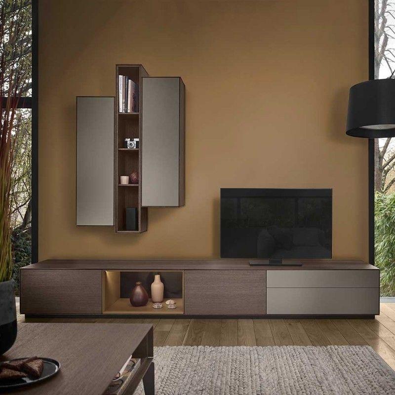 Sehr hochwertige Möbel für das Wohnzimmer im Set   modernes Design mit elegant schlichter No ...