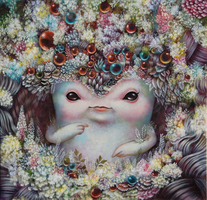 Lowbrow by ᏝᏋᏉᏐ ᏝᏍᏋ pop surrealism art surrealism painting