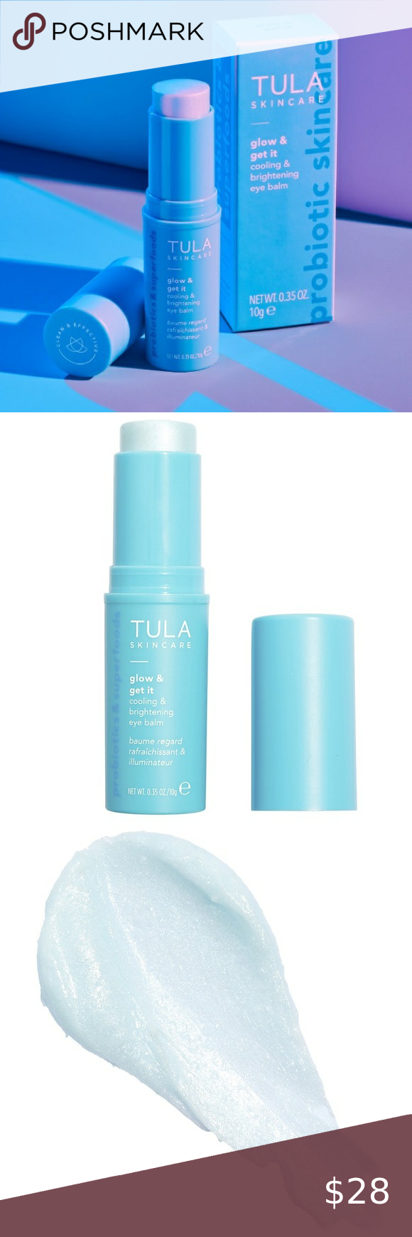 Tula Glow Get It Cooling Brightening Eye Balm In 2020 The