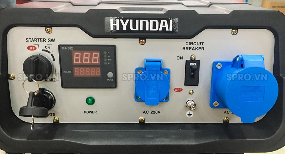 Ban May Phat điện Chạy Xăng Hyundai 7 5kva Gia Rẻ May Phat điện May Ban May